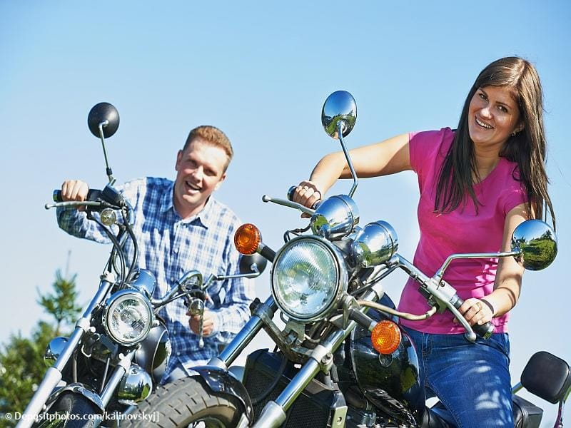 Motorradsingles aufgepasst: Finde den Biker deiner Träume
