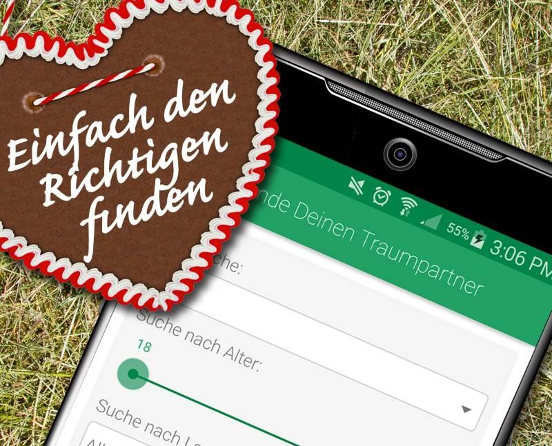Die mobile Bauer sucht Frau per App