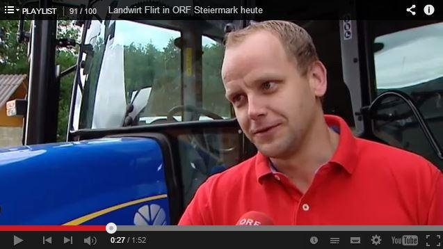 Landwirt Flirt in ORF Steiermark Heute