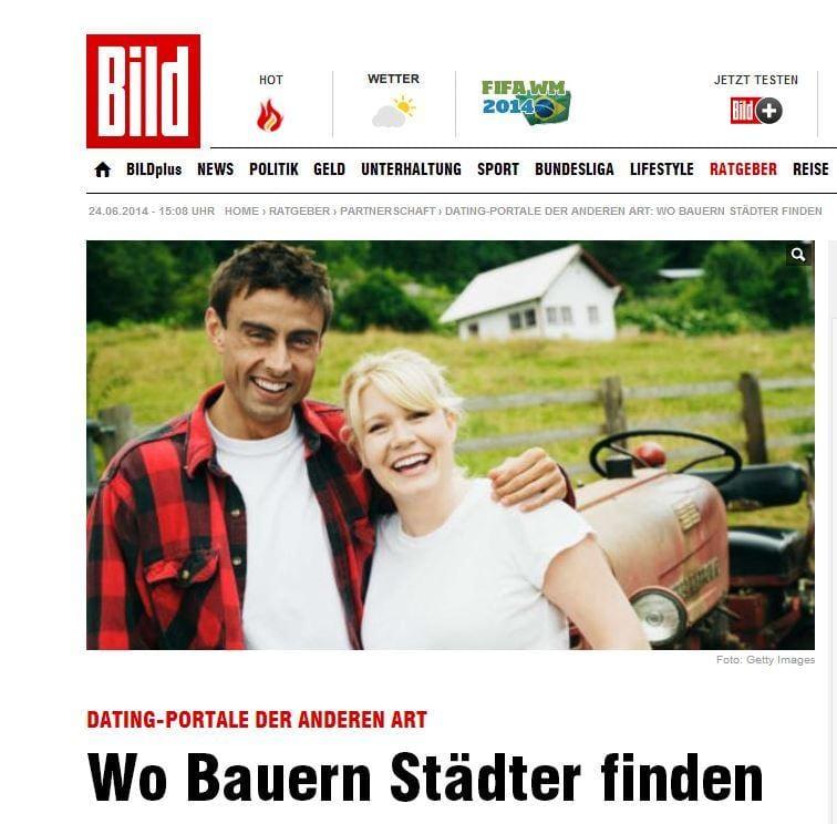 Frau sucht Bauer - Wo Bauern Städter finden