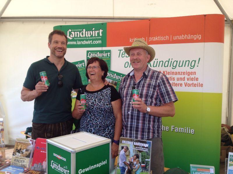 Singletreff und Bauernflirt am Lagerhaus Feldtag 2014