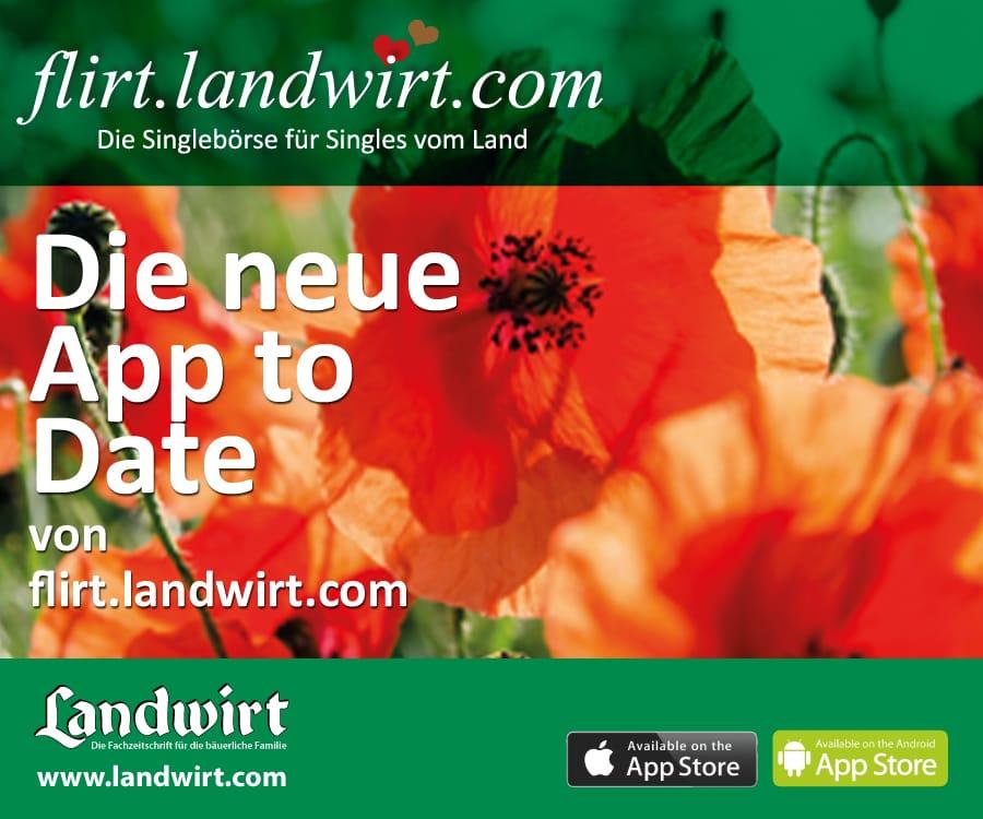 Jetzt noch besser: Die neue Landwirt Flirt App